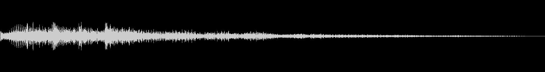 メニュー系SE 決定音10の未再生の波形