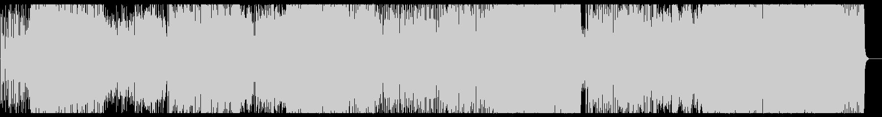 【生録音】展開豊かなノリ良いジャズロックの未再生の波形