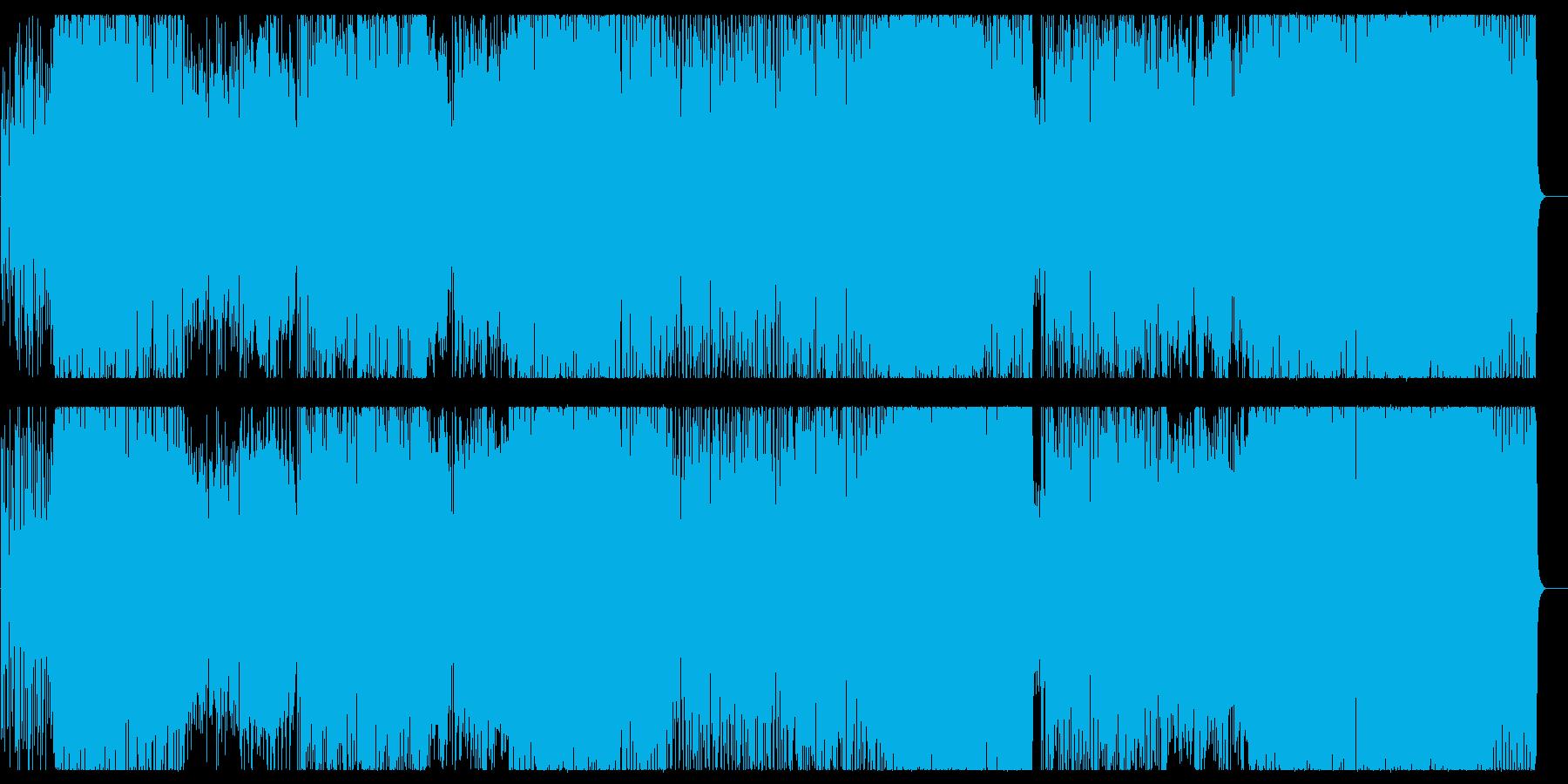 【生録音】展開豊かなノリ良いジャズロックの再生済みの波形