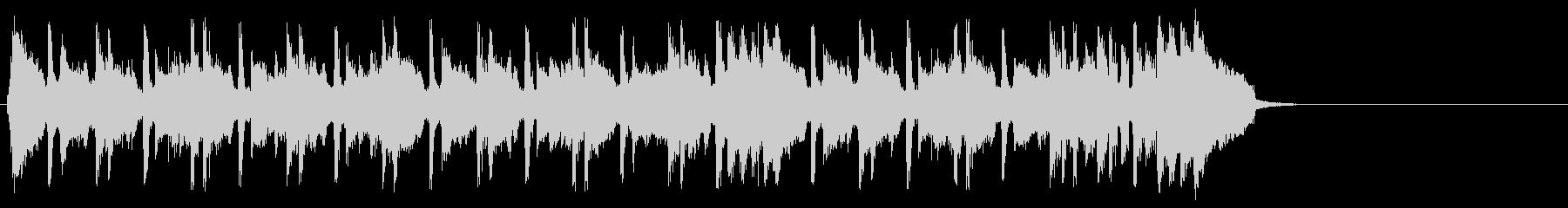 ちょっぴり切ないポップ(イントロ~エ…)の未再生の波形