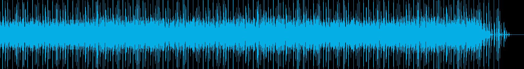 電気楽器。滑らかで滑らか。きらめく...の再生済みの波形