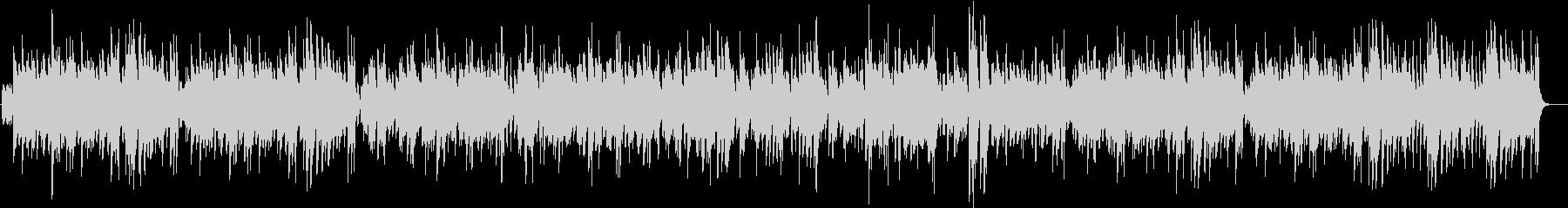 テナーサックスのスイングジャズの未再生の波形