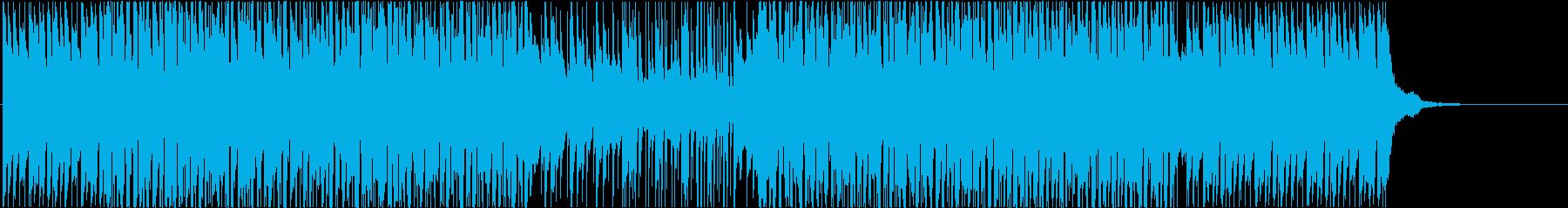 ピアノが特徴のEDM ファンクの再生済みの波形