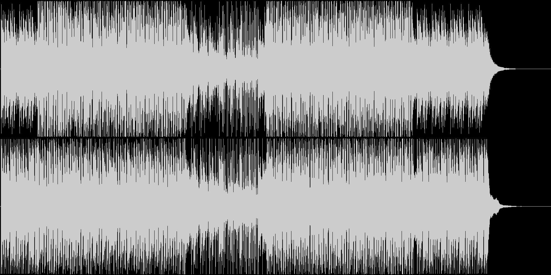 ピアノが特徴のEDM ファンクの未再生の波形