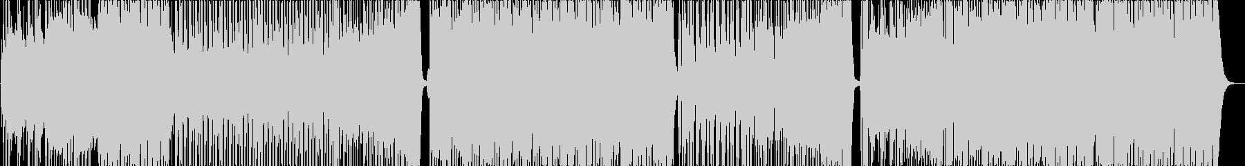 ハッピー感溢れるウェディングBGMの未再生の波形