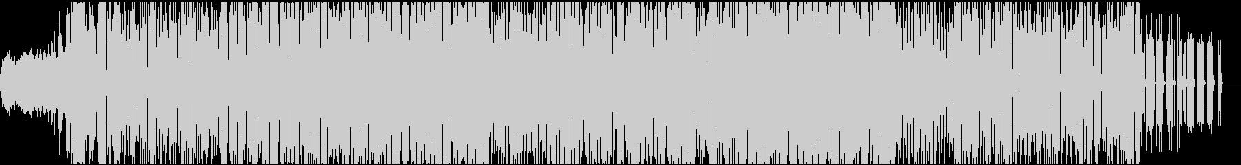 オリエンタル風メロディーが楽しいEDMの未再生の波形