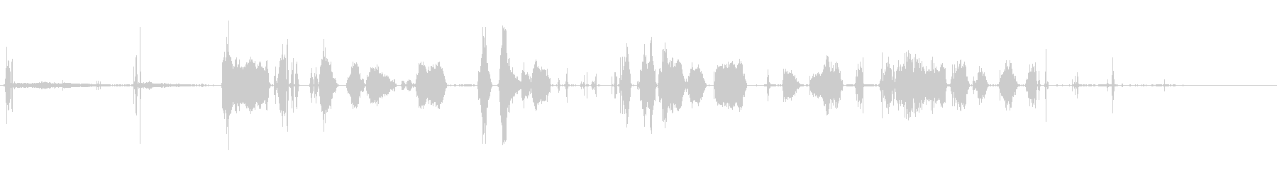 サーボスモールブロークン;オン、悪...の未再生の波形