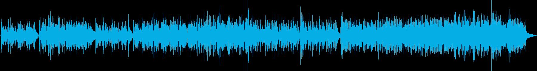 フュージョン系モダンなジャズギターポップの再生済みの波形