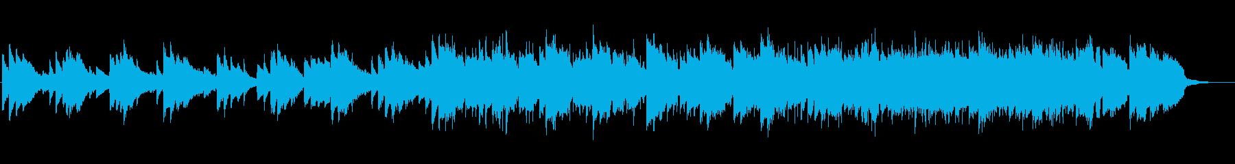【アコギなし】優しい懐かしさのあるBGMの再生済みの波形