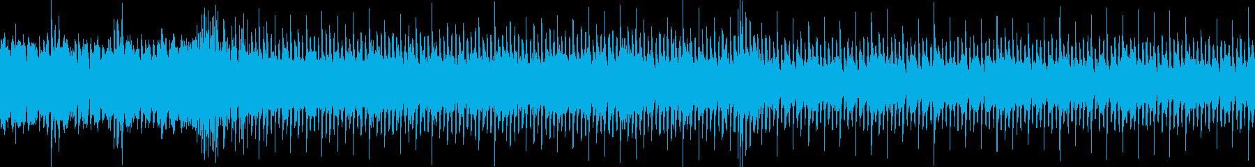 短めのRock戦闘曲の再生済みの波形