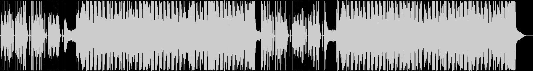アコギのストロークが印象的なBGMの未再生の波形