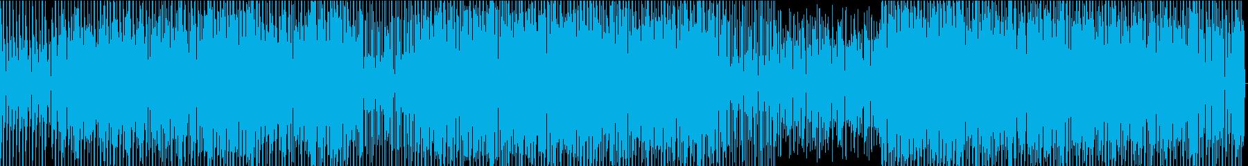 洗練されたスピード感ある映像に合うBGMの再生済みの波形