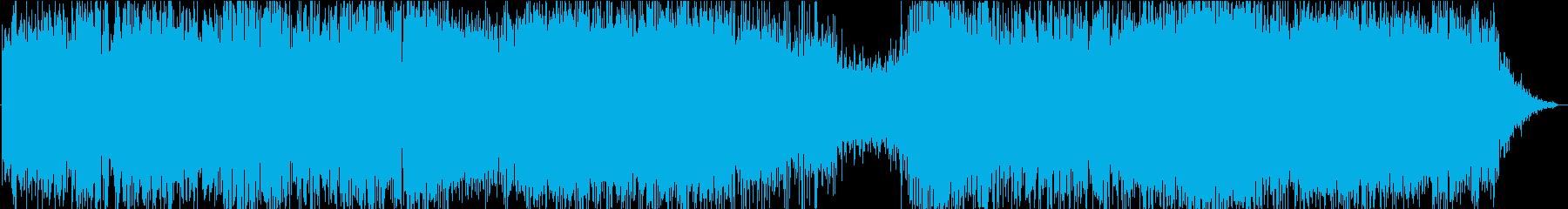 ドローン ミスタービーム01の再生済みの波形
