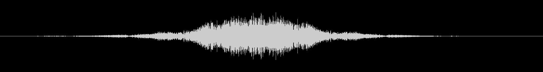 ホイッピングスパイラルフーズリワインド2の未再生の波形