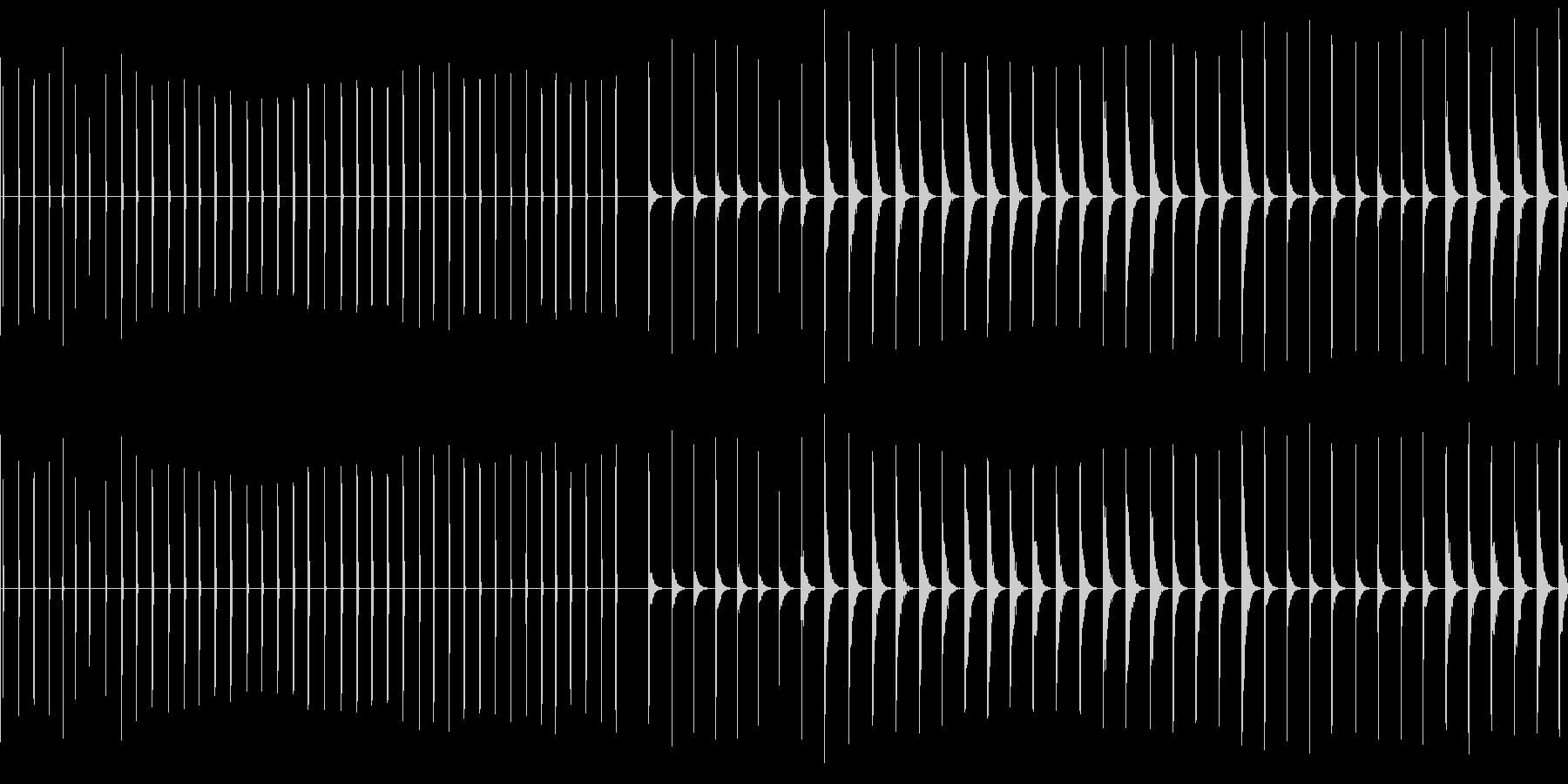 エレクトリッククリック、41バージ...の未再生の波形