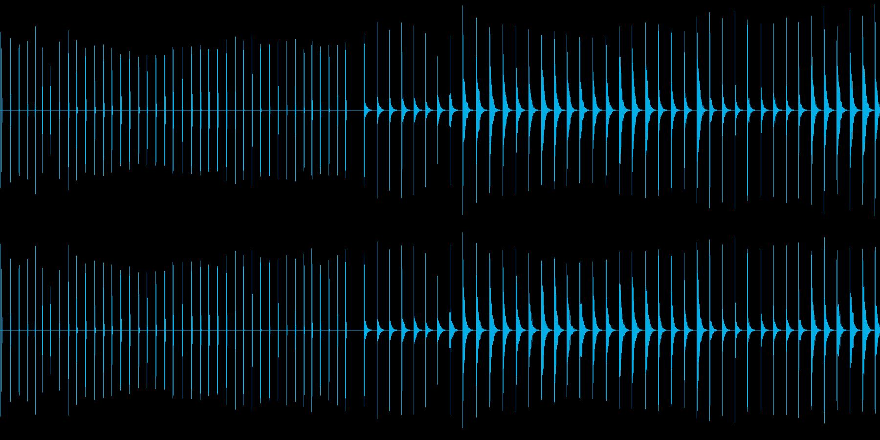 エレクトリッククリック、41バージ...の再生済みの波形