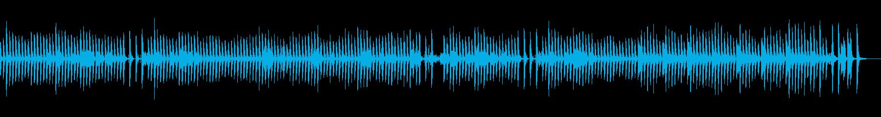 ほのぼのまったり可愛い日常曲の再生済みの波形