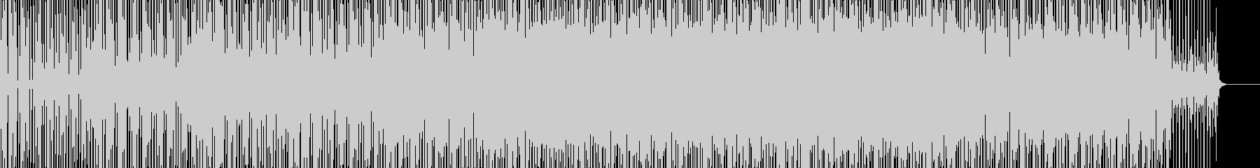少し悲し雰囲気のエレクトロニカBGMの未再生の波形