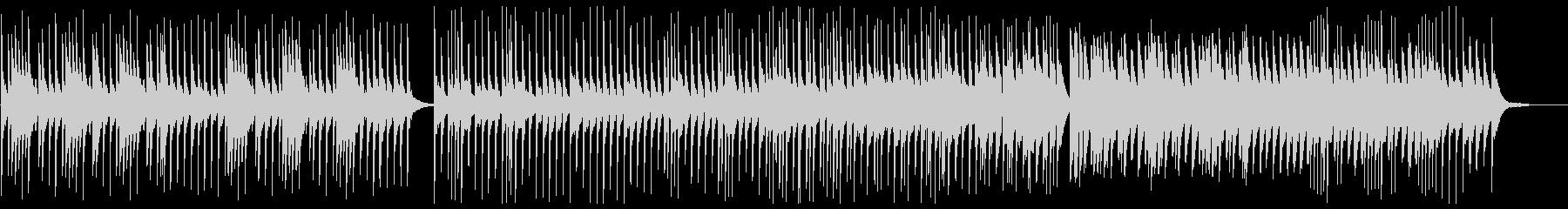 美しく切ないピアノサウンドの未再生の波形