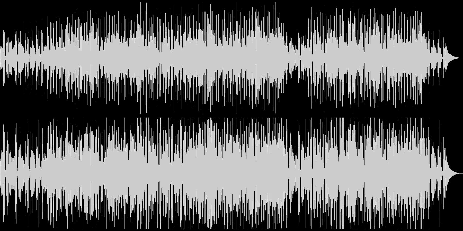 つま弾くアコギ 切ない インディーロックの未再生の波形