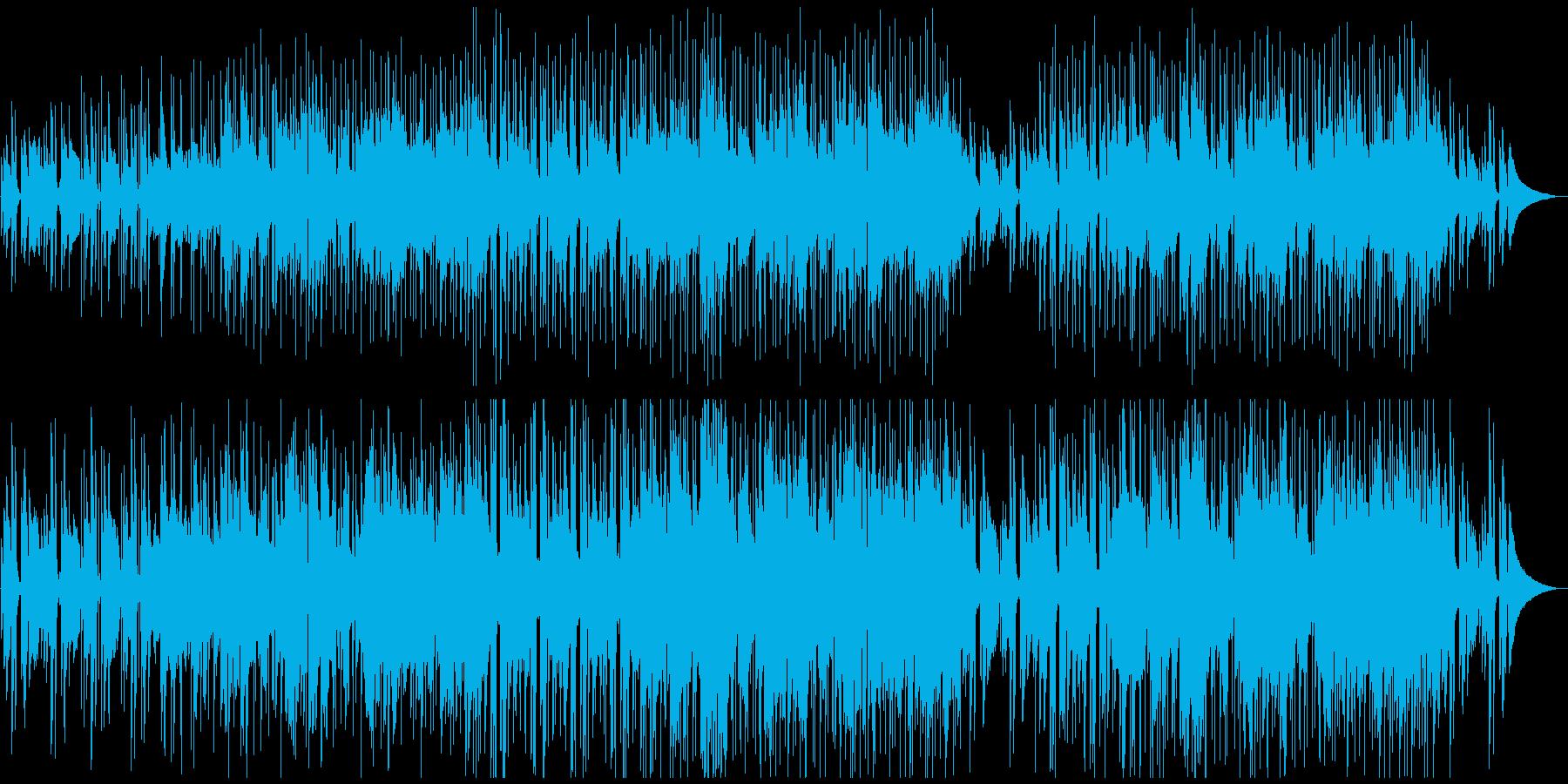 つま弾くアコギ 切ない インディーロックの再生済みの波形
