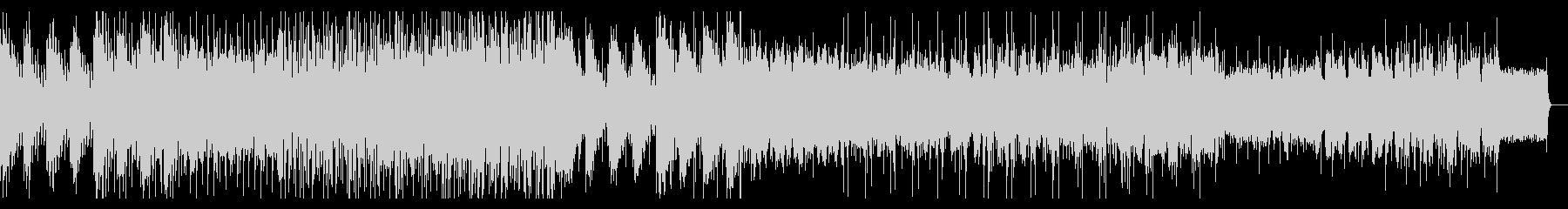 ダンサンブルなグリッジエレクトロニカの未再生の波形