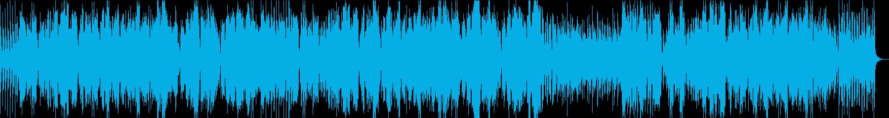 アコーディオン+バイオリンのシャンソン風の再生済みの波形