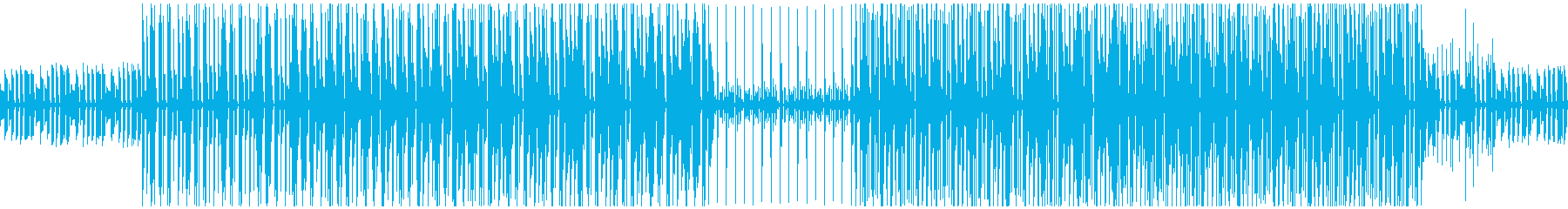 ピアノのシンプルなボサノバBGMの再生済みの波形