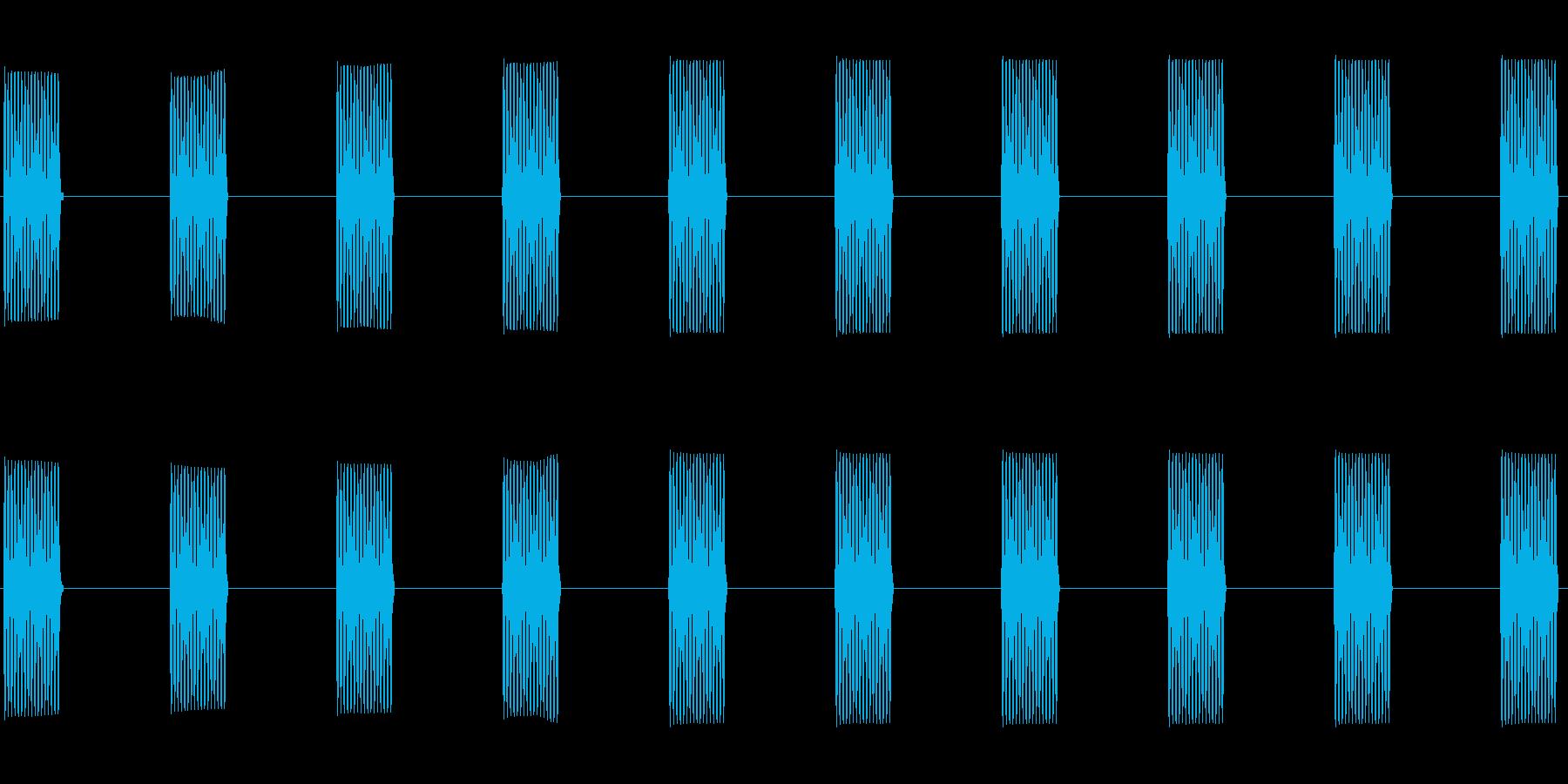 (プルルル)電話着信音02の再生済みの波形