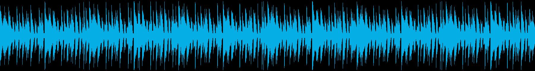 【ループ】リザルト画面や準備画面のBGMの再生済みの波形