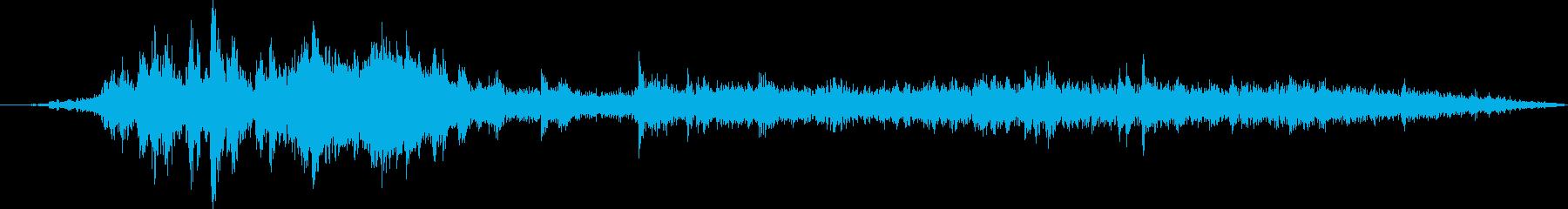 建物解体:ヘビークレーン:ダンプス...の再生済みの波形