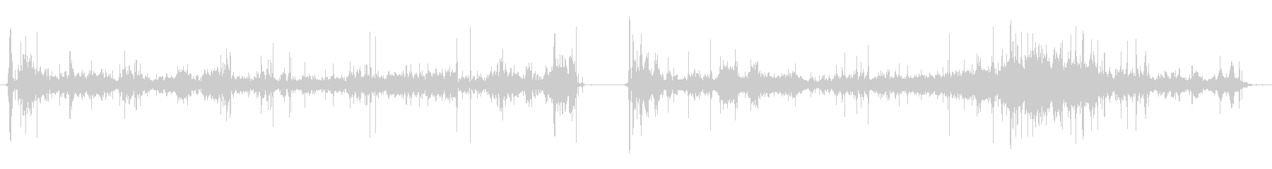 ダウンヒルスキーヤー:陸上からジャ...の未再生の波形
