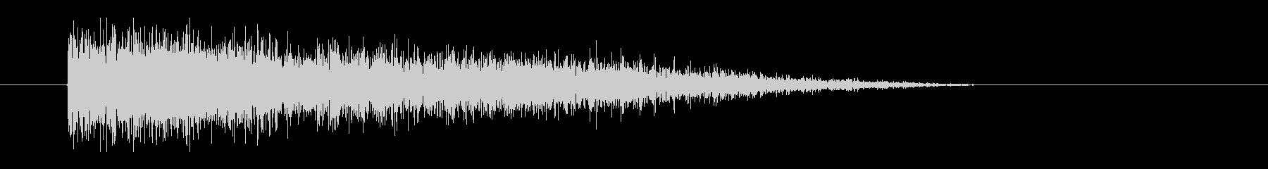 レーザー音-54-3の未再生の波形