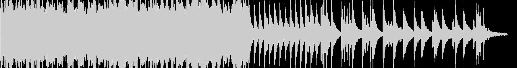 ピアノオーケストラの悲しいバラードの未再生の波形