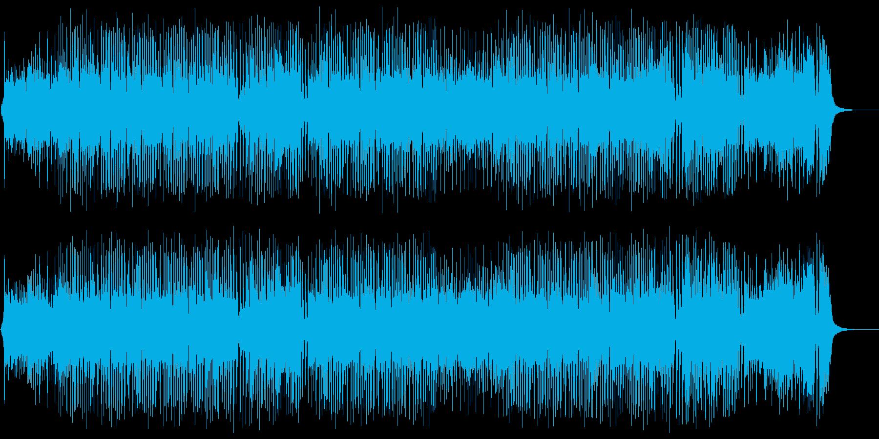 軽快でキャッチーなポップス(ショート版)の再生済みの波形