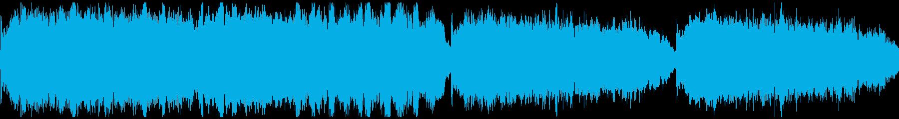 チェロメインの優雅なクラシカルBGMの再生済みの波形