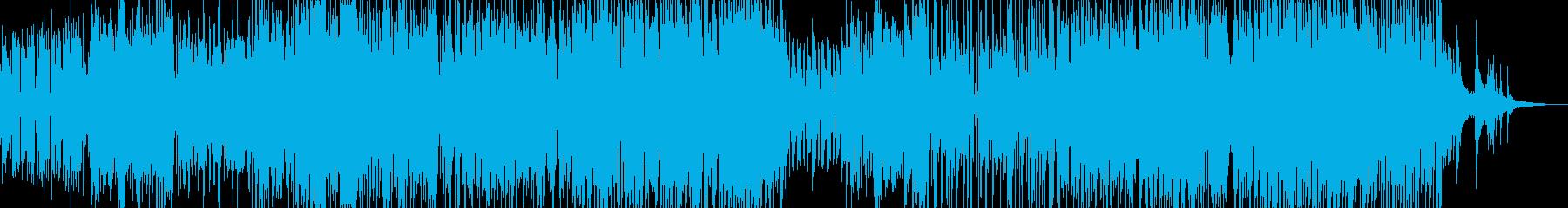 木管とピアノ・軽快で可憐なジャズ Aの再生済みの波形