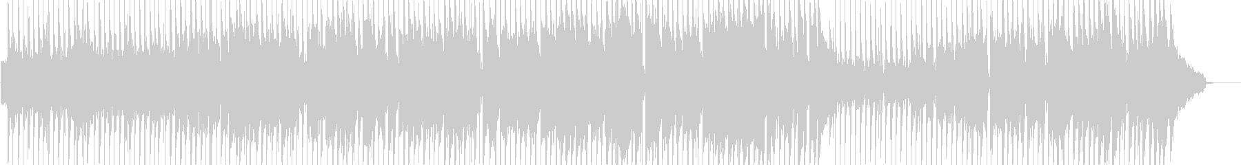 日常的・ほのぼの打楽器ポップス 短尺の未再生の波形