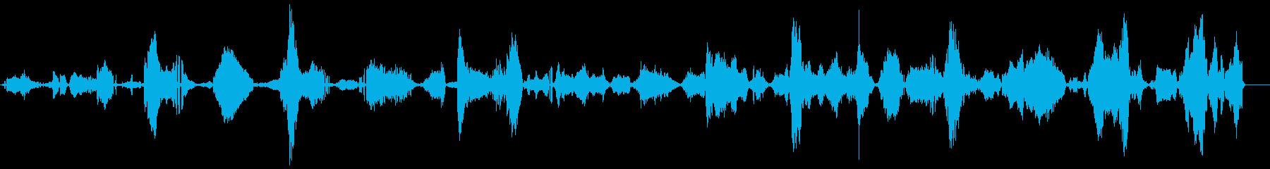 ゾンビうめき声、独身女性1の再生済みの波形