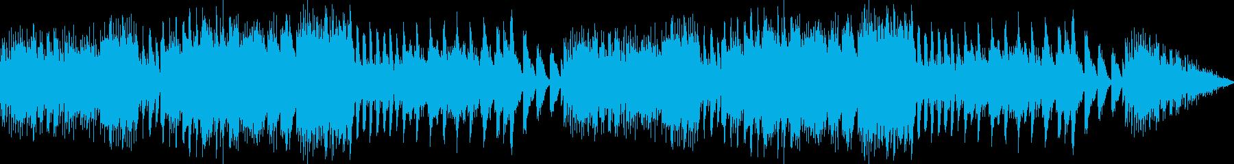 オルゴールの音色が落ち着ける癒しBGMの再生済みの波形