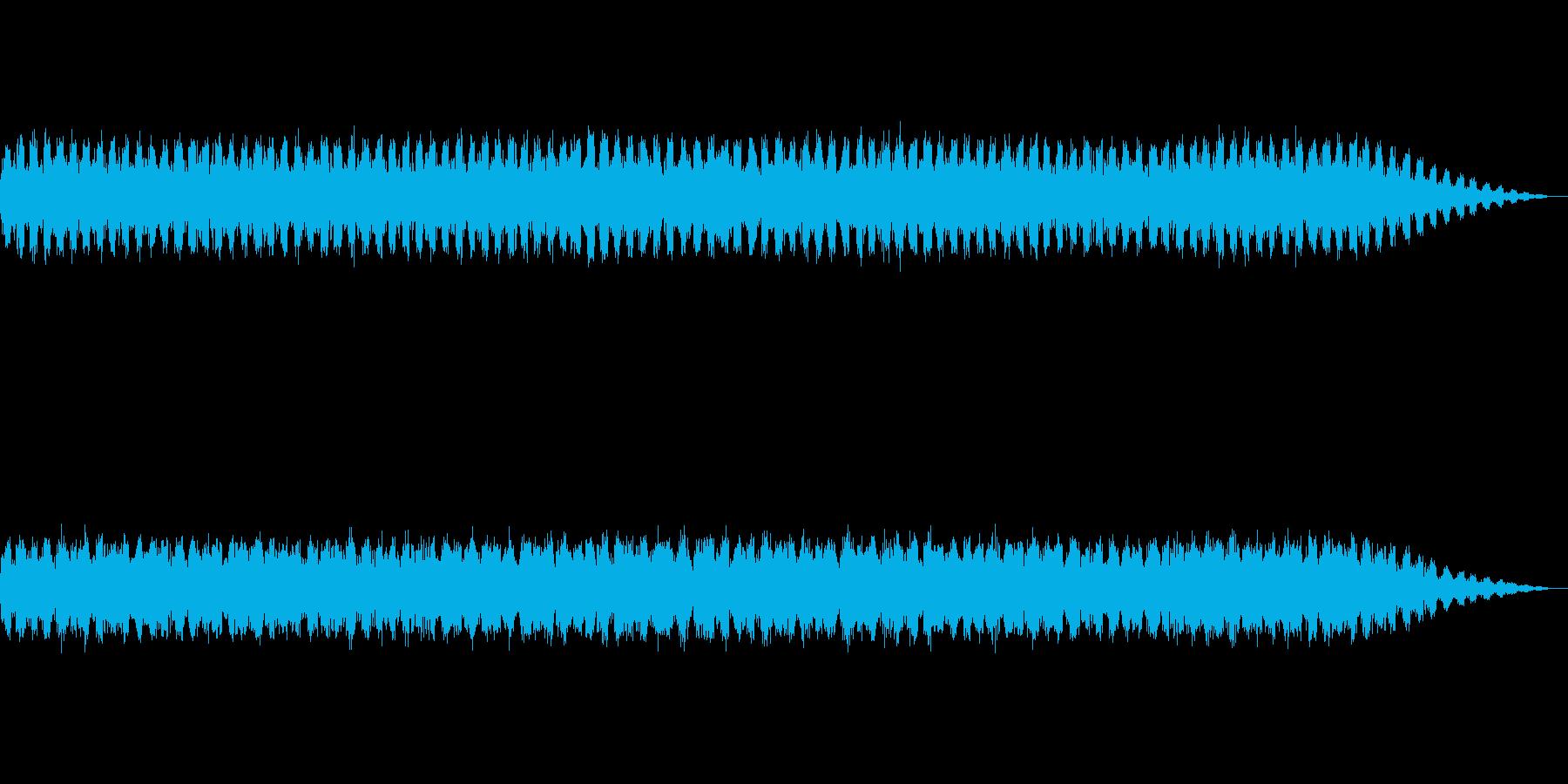 【生録音】美しい秋の虫の鳴き声 2019の再生済みの波形