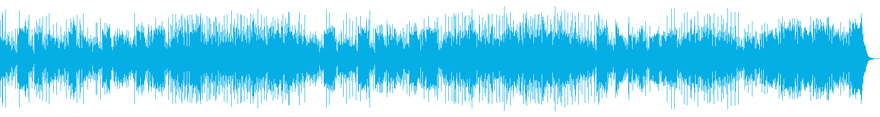 尺八が印象的なラテン風リラックスソングの再生済みの波形