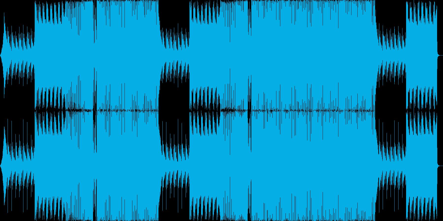 エンディング・かわいい・楽しい EDMの再生済みの波形
