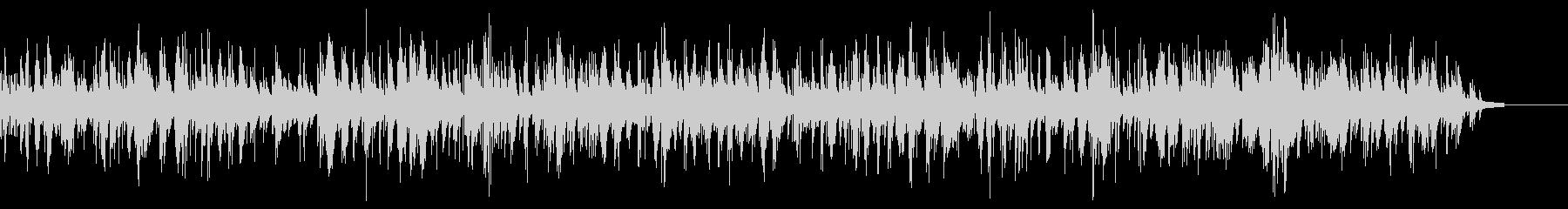 ラウンジのお洒落ジャズピアノバラードの未再生の波形