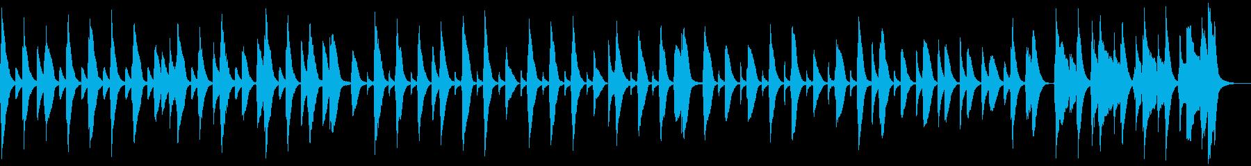 脱力・木琴とバスーンと笛のコミカル曲の再生済みの波形