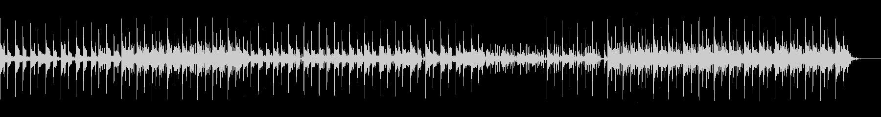 80年代ニューウェーブ風BGMの未再生の波形