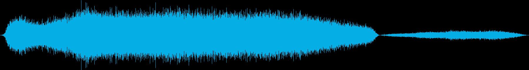 Python、ビルマのヒス。長いヒ...の再生済みの波形