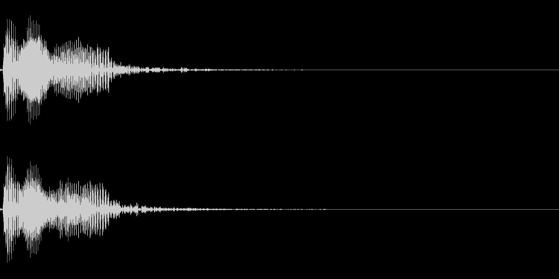 エレキベースグリッサンド(音楽制作素材)の未再生の波形