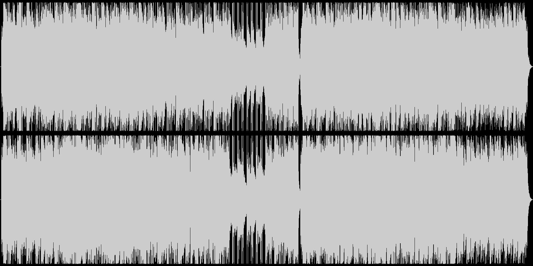 ヴァイオリンが奏でる切ないBGMの未再生の波形