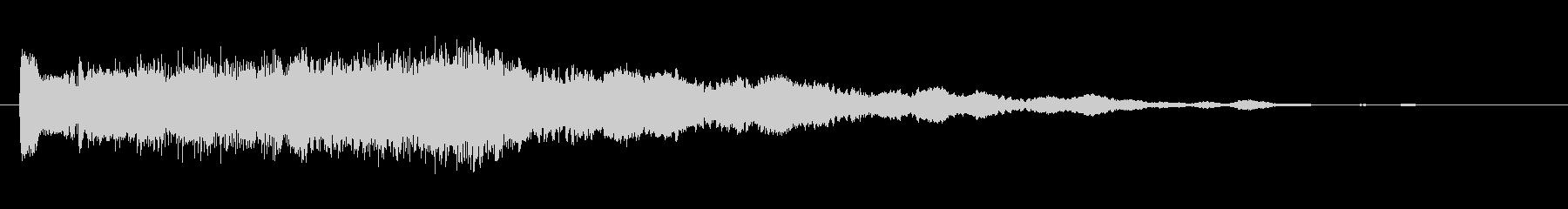素材 Synth Hit Stea...の未再生の波形